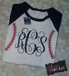 This shirt has several different colored sleeve options. Please leave full name for monogram in notes at checkout.