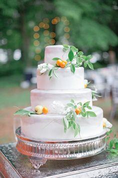 citrus cake with mini kumquats | Harwell Photography #wedding