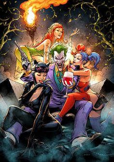 Gotham City's Most Wanted by FlowComa.deviantart.com on @DeviantArt