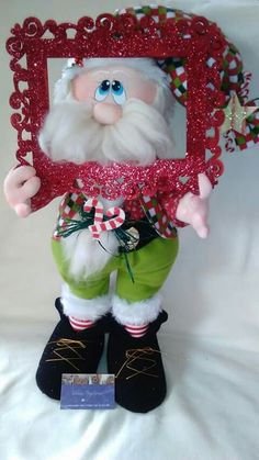 Santa Christmas Holidays, Christmas Crafts, Merry Christmas, Candy Crafts, Handmade Toys, Handmade Ideas, Wool Felt, Art For Kids, Diy And Crafts
