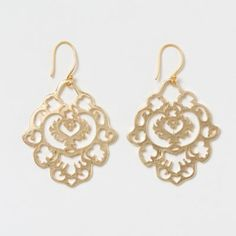 Terrain Old World Filigree Earrings #shopterrain