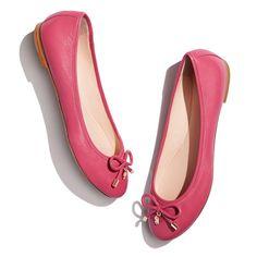kate spade new york Women's Willa Ballet Flat in deep pink