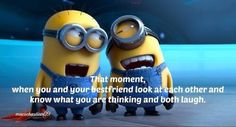 Friendship Quotes: Photo- minions Randolph lol Love you girl! Best Friend Quotes, My Best Friend, Me Quotes, Best Friends, Funny Quotes, User Friends Quotes, Friend Sayings, Friend Pics, Sister Quotes
