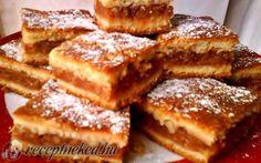 Almás-diós pite recept fotóval