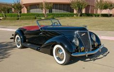1937 Ford Convertable Vintage Cars, Antique Cars, Ford V8, Vehicles, Cutaway, Car, Classic Cars, Retro Cars, Vehicle