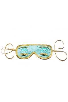 Classic Blue Eye Mask from Breakfast at Tiffany's