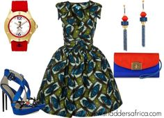STYLE INSPIRATION // AFRICAN PRINT DRESS FOR SUMMER 2013