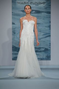 Sweetheart A-Line Wedding Dress  with No Waist/Princess Seams in Chiffon. Bridal Gown Style Number:33034133
