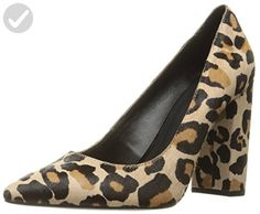 87af3757024 Women s Low-cut Uppers Block Heel Leopard Printed Pumps for Party