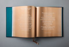This project, a coffee-table book of Bible passages, hymns, meditations and quotes, Published by Reformation Trust with beautiful full-page illustrations by Simon Pemberton, is unique in that it is truly a keepsake, printed with metallic ink, gilded edges, and bound in linen with a satin ribbon bookmark. Metaleap was privileged to design the page layout, graphics, typesetting and cover.