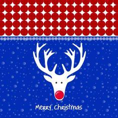 Kerstkaart CliniClowns rwb 1, verkrijgbaar bij #kaartje2go voor €1,89