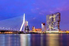 De Erasmusbrug is zonder twijfel het symbool van Rotterdam.