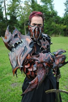 Epic Leather Modular Armor Dragon Slayers Wrist by EpicLeather, $49.99