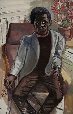 Black Man, 1968, Alice Neel