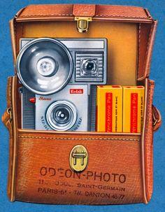 Kodak camera and case