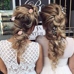 Wedding Updo Hairstyles for Long Hair from Ulyana Aster_06 ❤ See more: http://www.deerpearlflowers.com/wedding-updo-hairstyles-for-long-hair-from-ulyana-aster/