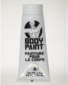 White Body Paint - Spencer's