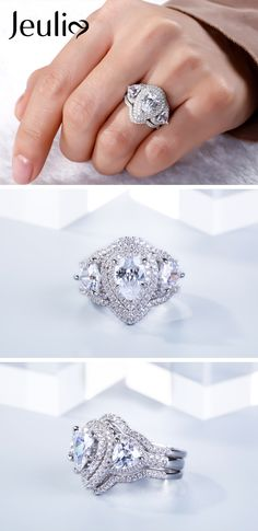 517 Best Pear Shape Ring Design Images Ring Designs Jewelry