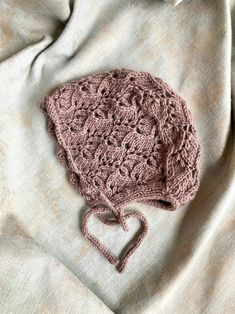 Beige lace baby bonnet | Etsy Knitted Baby, Baby Knitting, Bonnet Hat, Christening, Merino Wool, Winter Hats, Beige, Lace, Etsy