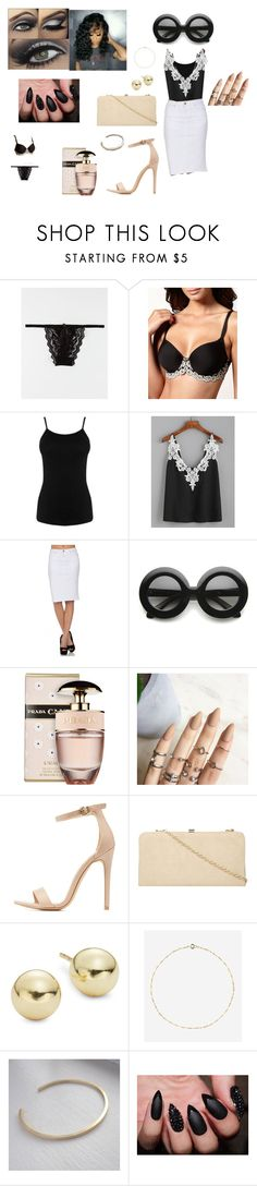 """""""Going Shopping"""" by shi-2the-z ❤ liked on Polyvore featuring Wacoal, Warehouse, ZeroUV, Prada, Charlotte Russe, Dorothy Perkins, Lord & Taylor and Rock 'N Rose"""