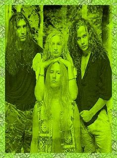 Orig. AIC boyz in a chartreuse forest