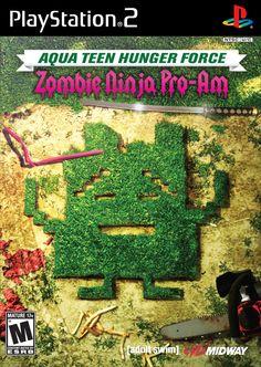 Aqua Teen Hunger Force: Zombie Ninja Pro-Am for PS2 @ www.thegamingwarehouse.com/aqua-teen-hunger-force-zombie-ninja-pro-am-for-ps2-used/