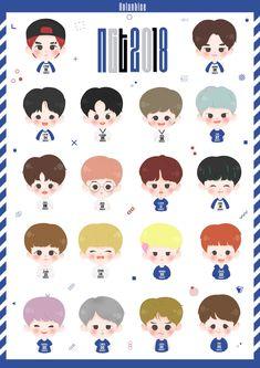 Tumblr Stickers, Cute Stickers, Nct Logo, Nct Taeil, Jisung Nct, Jaehyun Nct, Art Party, Kpop Fanart, Nct Dream