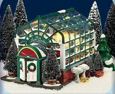 DEPT 56 ORIGINAL SNOW VILLAGE SECRET GARDEN GREENHOUSE #54949 RETIRED ($214.20) ct.
