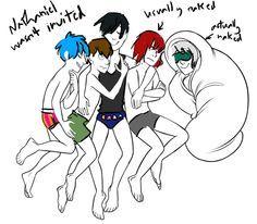 Só queria entender porque o Kentin está abraçado ao Armin xd