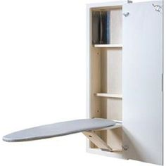 NuTone Broan - ironing center with with raised panel door