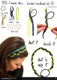 Different types of hair bands