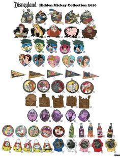 DISNEY COLLECTIBLES: Hidden Mickey lanyard collections for 2010 announced