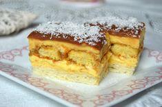 Prajitura Luna | MiremircMiremirc Tiramisu, French Toast, Breakfast, Ethnic Recipes, Food, Hoods, Meals