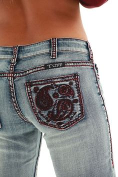 Paisley Red Jean from Cowgirl Tuff Co. by Stephanie Christian