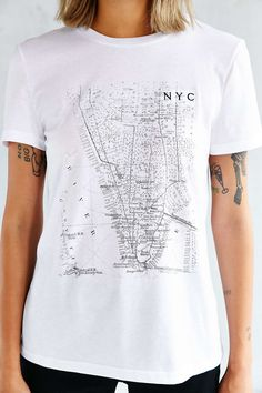 Future State Mapped Tee - Urban Outfitters Graphic Tee Shirts, Sweater Shirt,  Cute Shirts 00c43060da