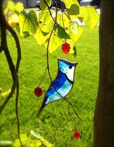 Blue Jay di BirdsAndBugs1 su Etsy
