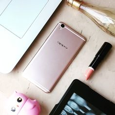 Sleek  stylish and stunning  the #OPPOF1Plus is an incredibly powerful device. What I love most? Of course the fabulous 16MP front camera making it the #SelfieExpert .  And the pretty #rosegold colour of course.  Stay tuned for a detailed review on the blog soon.  #mobilephone #smartphone #iphone6splusrival #technology #gadget #beautygadget #lifestyle #picoftheday #instatech #igersmumbai #instafollow #instafabulous