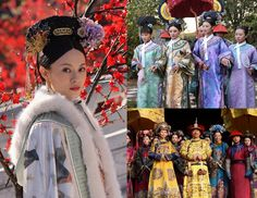 Traditional Chinese clothing - Rich people wore colourful and beautiful clothing. Poor people wore old rags of clothing and looked unkept.