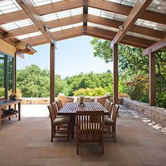 contemporary patio by Stoecker and Northway Architects, Inc.