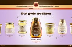 Jakobsen & Hvam       Honey by JaHallo , via Behance