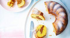 Gâteau marbré au citron et au chocolatLire la recette du gâteau marbré au citron et au chocolat