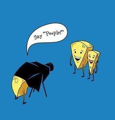 Haha cheese