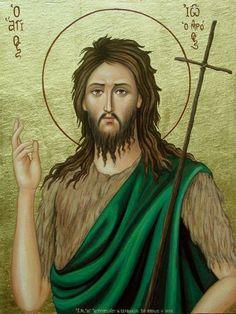 Άγιε Πάτερ Ιωάννη, Πρόδρομε και Βαπτιστά του Κυρίου ' Ημων Ιησού Χριστου, εσύ ... Η βοήθειά μου παρά του Κυρίου , του ποιήσαντος τον ουρανόν και τη γης...  (φωνή βοῶντος ἐν τῇ ἐρήμῳ!):αδιαφορία σε σωστές υποδείξεις ή συμβουλές... {δεν με ακούει κανείς ούτε προσέχει τι λέω...σαν να μιλάω καταμεσίς στην έρημο.}  ετοιμάσατε την οδόν του Κυρίου...για να εξανθίσει η έρημος που ζούμε και λέγεται σύγχρονη κοινωνία...Άγιε Ιωάννη Πρόδρομε, δύνασαι... βοήθειά μας.