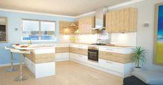 10 Farbkombinationen für moderne Küchen | Wohnideen und Dekoration