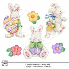 Super Cute Easter Graphics and Clip Art!  DAISIE COMPANY: Printable Digital Paper Crafts, Clipart, Scrapbooking, Stamp, Party - DaisieCompany.com