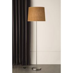 231FL Holly Satin Nickel Floor Lamp