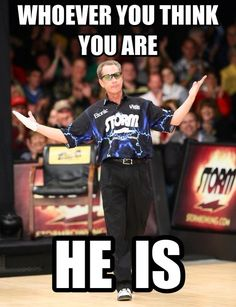 A little professional bowling humor :)