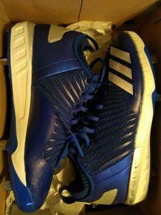 b3e04a9b387 New Adidas Boost Icon 3 Metal Baseball Cleats Royal Blue White Mens Size 9   fashion