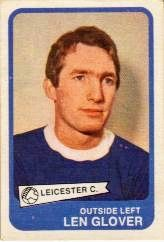Len Glover of Leicester City in 1969.
