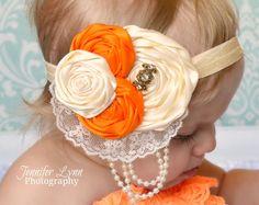 Baby Girls Headbands Newborn Photography Prop by spoiledNsweet, $16.95